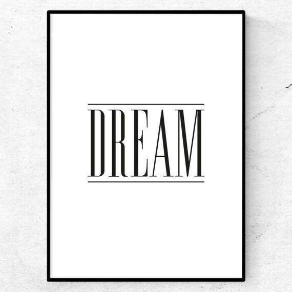 drömmar dröm dream tavla