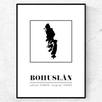 Bohuslän poster tavla landskap