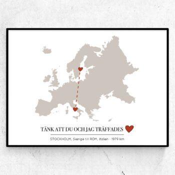 kärlekskartan europa