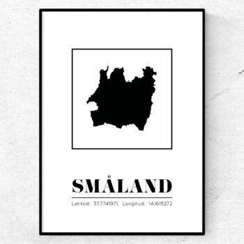 småland poster tavla landskap