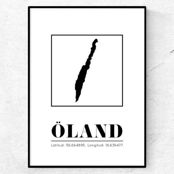 öland poster tavla landskap