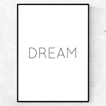 Always dream poster