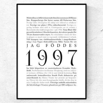 årtalsposter 1997 poster