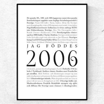 årtalsposter 2006 poster
