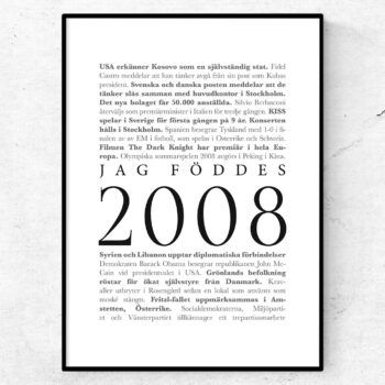 årtalsposter 2008 poster