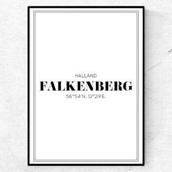 falkenberg poster tavla