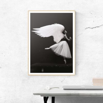 dance little angel poster