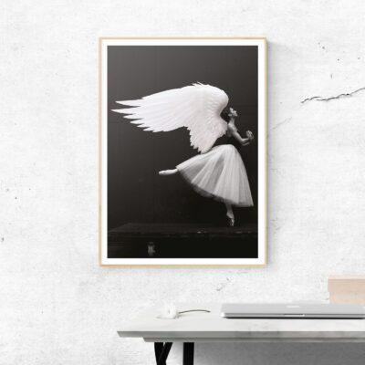 dance little angel poster