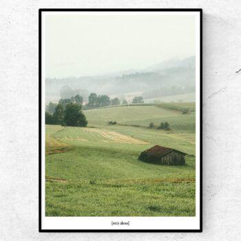misty silence poster
