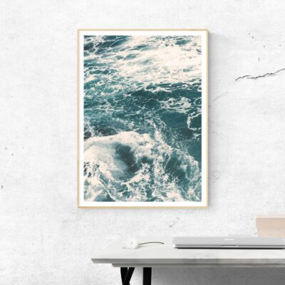 save the oceans poster