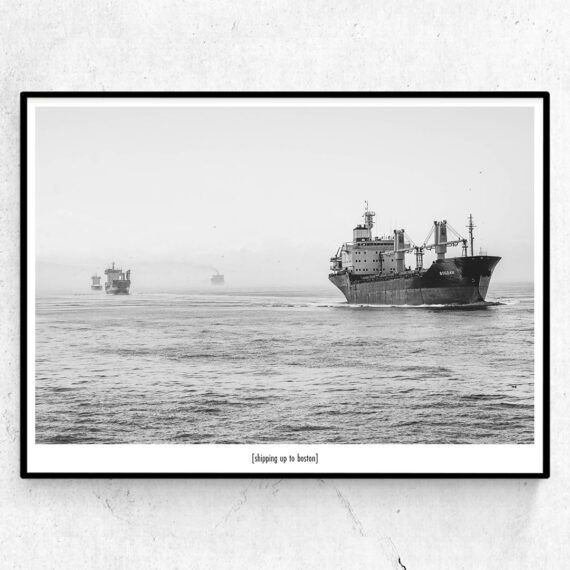 Shipping up to Boston poster