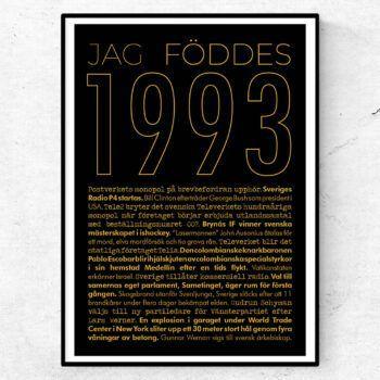 1993 guld poster