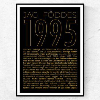 1995 guld poster