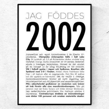 2002 modern poster