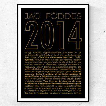 2014 guld poster