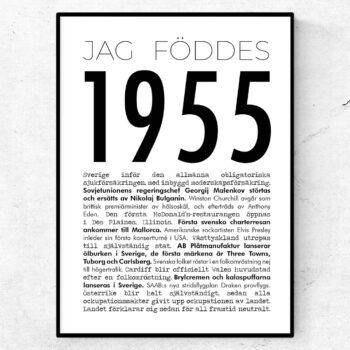 1955 modern poster