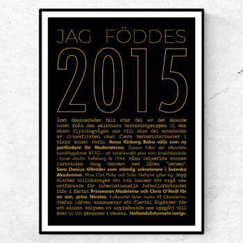 2015 guld poster