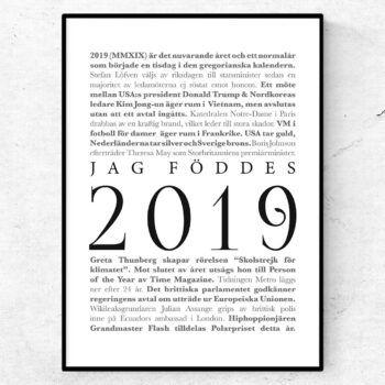 2019 årtalsposter tavla nyheter klassisk