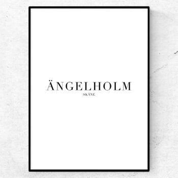 Ängelholm poster tavla