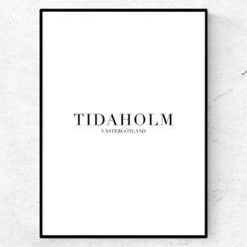 Tidaholm tavla poster