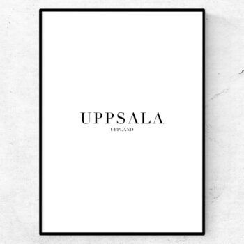 Uppsala poster tavla