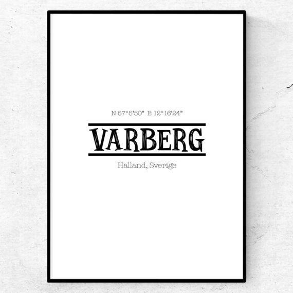 varberg poster tavla