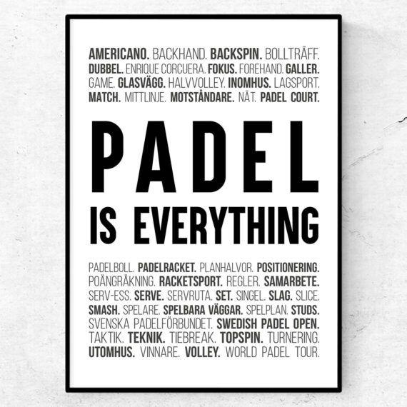 padel is everything sport termer ord padel paddel padelhall