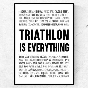 triathlon poster ord tavla triathlon iron man
