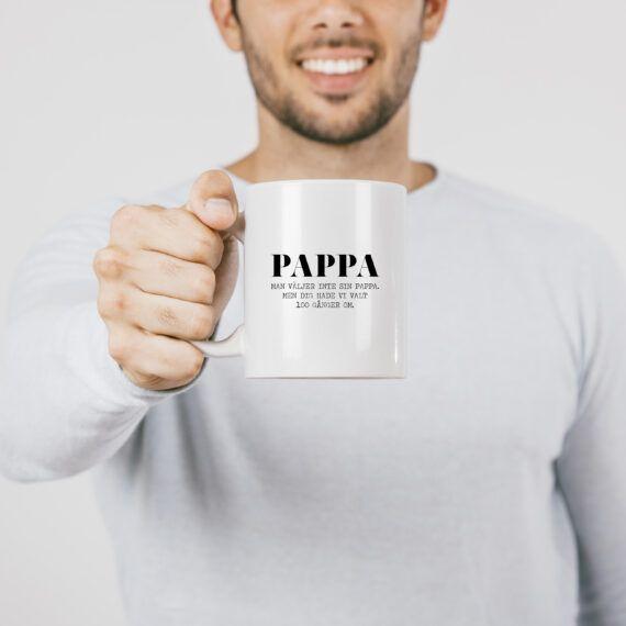 present pappa fars dag mugg