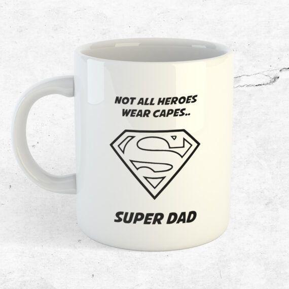 super dad pappa kopp mugg fars dag present