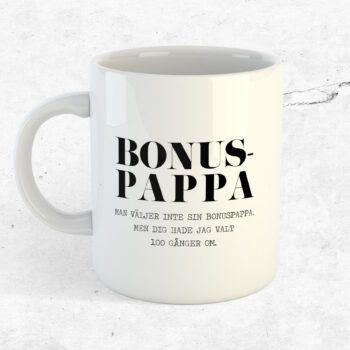 bonuspappa present mugg