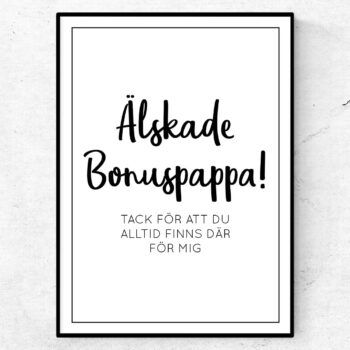 bonuspappa poster present tavla