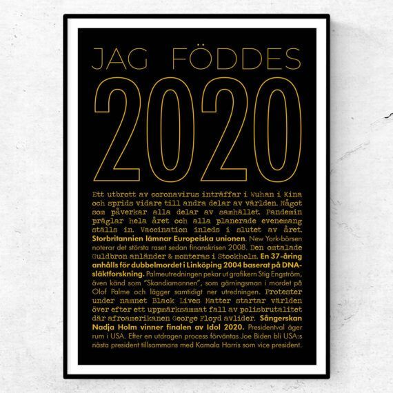 2020 årtalsposter guld