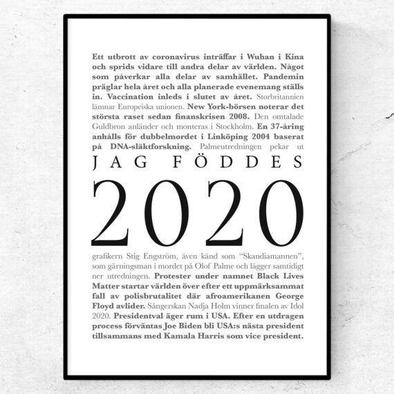 2020 årtalsposter klassisk