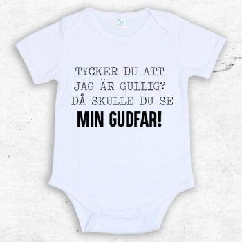 Tycker du jag är gullig? Då skulle du se min gudfar! Baby Body | Text & Art