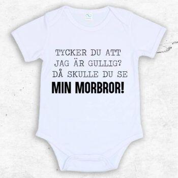 Tycker du att jag är gullig? Då skulle du se min morbror! Baby Body | Text & Art
