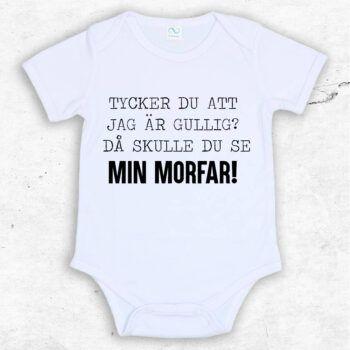 Tycker du att jag är gullig? Då skulle du se min morfar! Baby Body | Text & Art