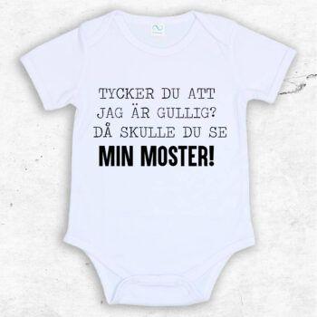 Tycker du att jag är gullig? Då skulle du se min moster! Baby Body | Text & Art