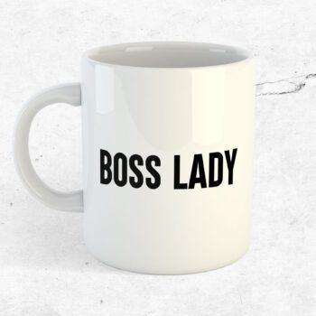 boss lady mugg