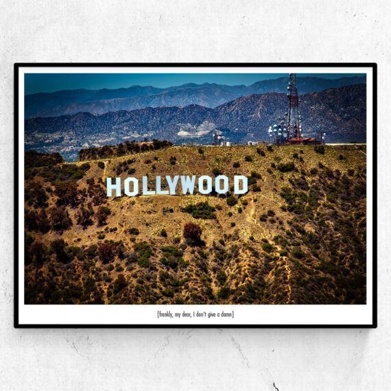Sunrise over Hollywood