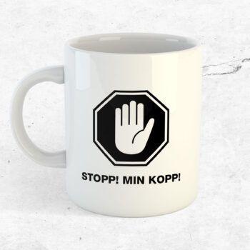 Stopp! Min kopp! Mugg