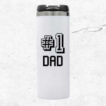 Number 1 dad termosmugg