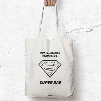 Super dad tygpåse
